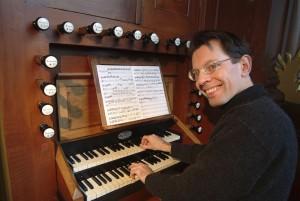 organist Frank van Wijk