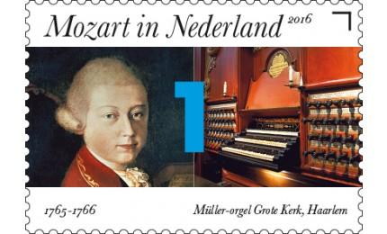 Mozart postzegel